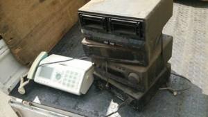 オーディオコンポ、電話ファクシミリ家電回収|便利屋ハピネスリサイクル
