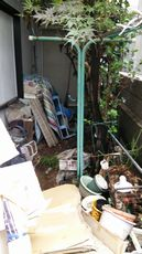 一軒家戸建ごみ処分業者|お庭ベランダ不用品専門回収