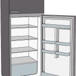 引越し時の冷蔵庫廃品廃棄処分 冷蔵庫を捨てたい 新宿区中野区