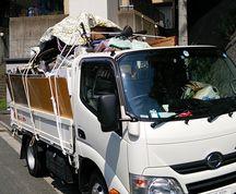 2tトラック回収 不用品緊急即日撤去 東京便利屋ハピネス 神奈川 埼玉 千葉対応